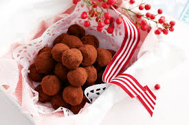 xmas bliss balls red