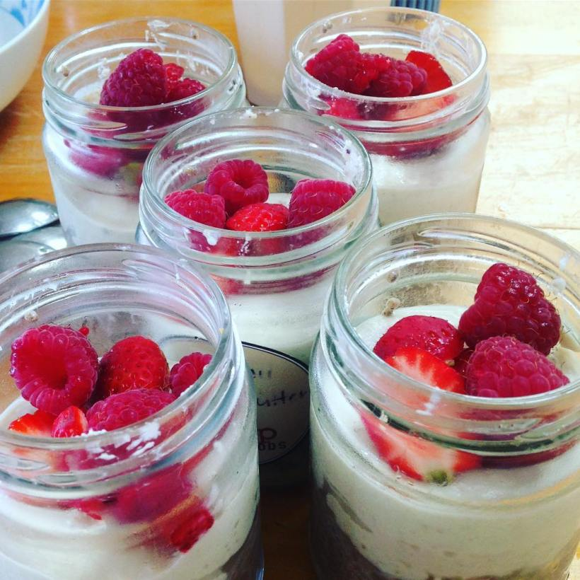 chia pudding, chrissie, coconut spice yoga naturopathy, naturopath, yoga teacher